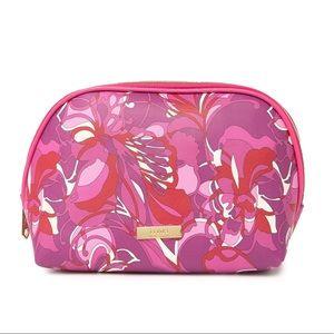 Trina Turk Large Dome Floral Makeup Bag